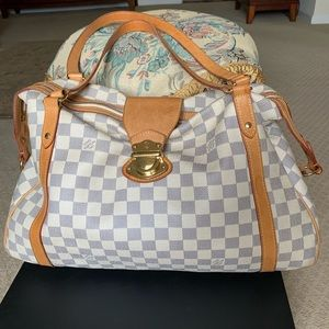 Authentic Louis Vuitton Stresa GM Damier Azur